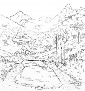 Sindarin Cover Sketch 002